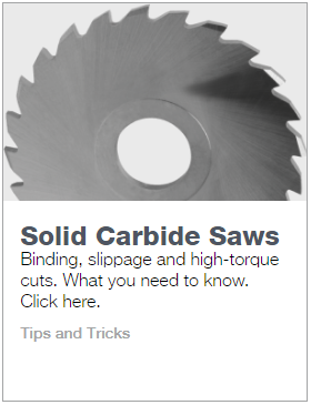 Solid Carbide Slitting Saws