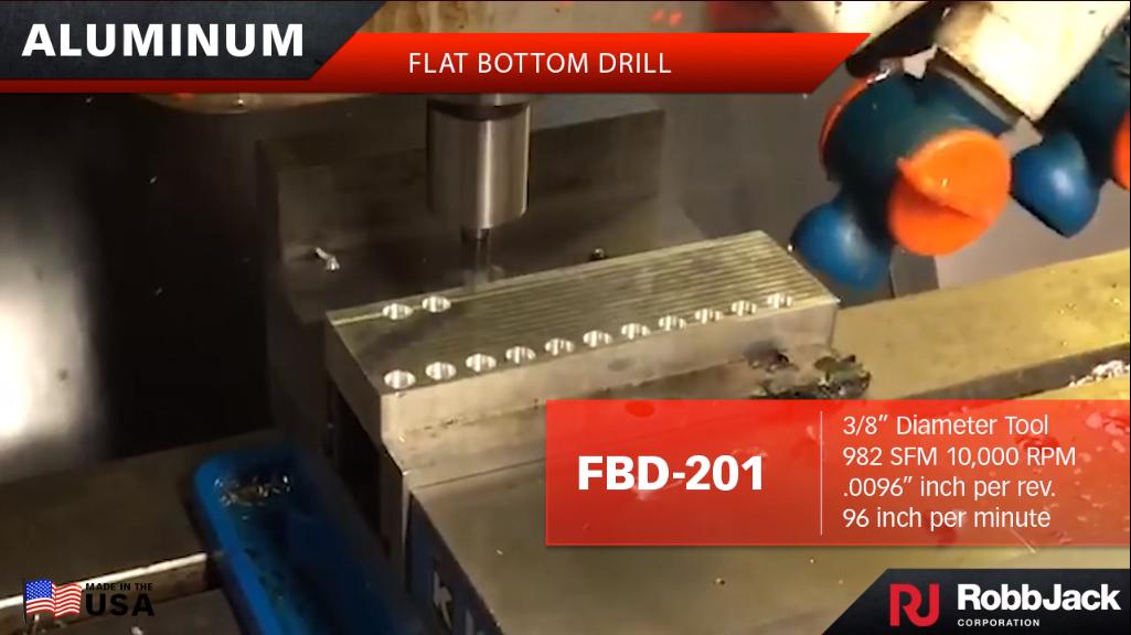 FBD Flat Bottom Drill